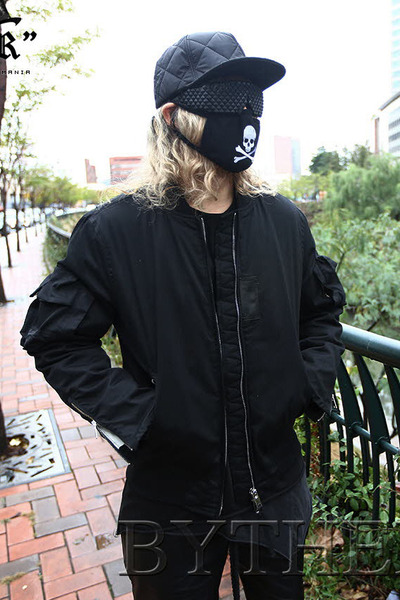 Layered Pocket Sleeves Jacket